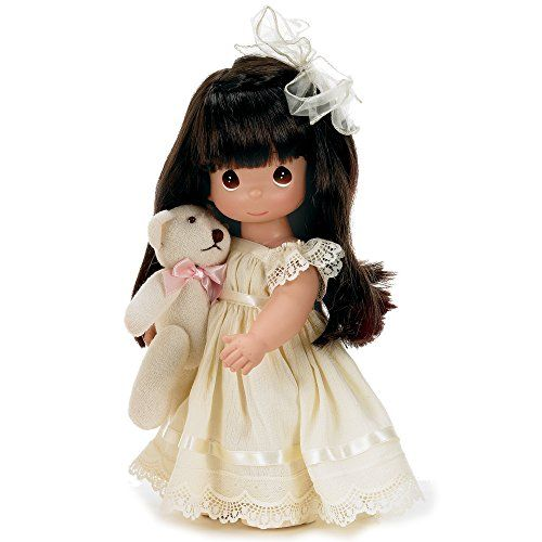 12 inch Doll Linda Rick Bear-Foot Blessings Blonde The Doll Maker Precious Moments Dolls