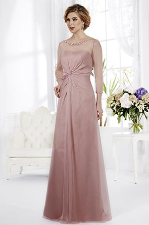 Elizabeth any colour wedding dress by Jasmine Bridal www.adorebrides.co.uk #chiffon #destination #sleeves