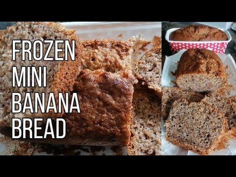 Ide Bisnis Makanan Beku Frozen Mini Banana Bread Ii Cook Like Kayka Youtube Makanan Beku Makanan Kue Pisang