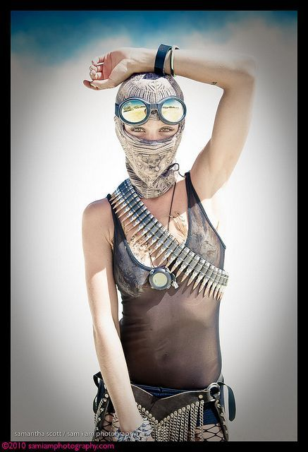 [Post apocalyptic fashion at Burning Man] - Immerse yourself in the surreal world of the Burning Man Festival - Watch this documentary: www.aburningdream.com