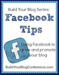 Build Your Blog Series: Facebook Tips BuildYourBlogConf... #Facebook #Blogging