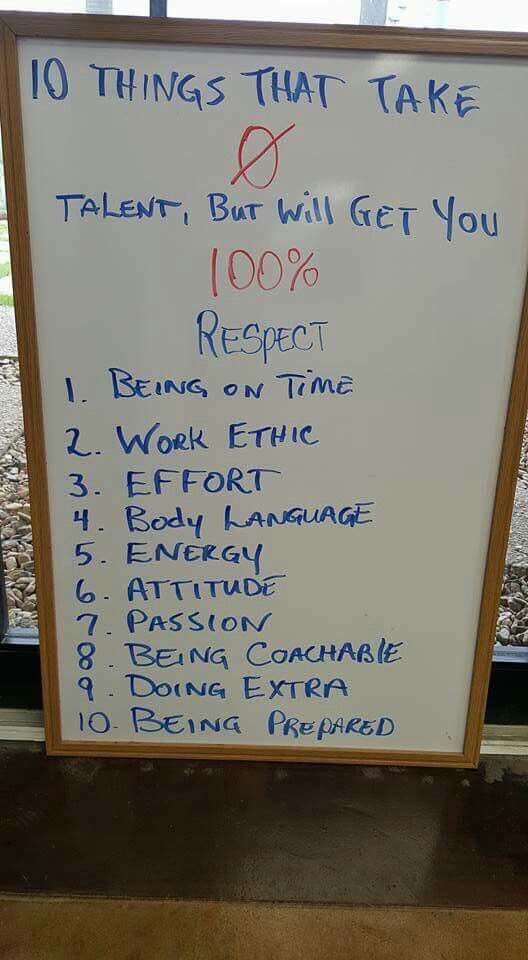 10 Things That Take Zero Talent But Will Get You 100 Respect