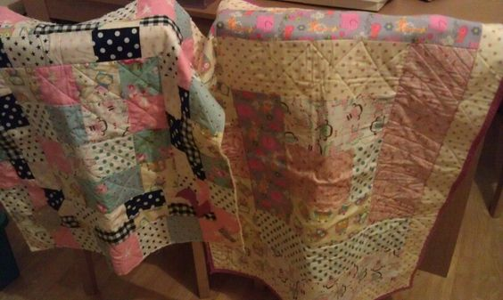 Baby quilts as Xmas gifts
