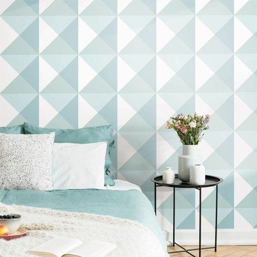 Origami Peel And Stick Single Roll Wallpaper Lelands Wallpaper Peel And Stick Wallpaper Room Visualizer Roommate Decor