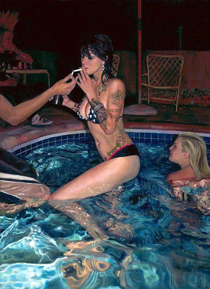 """Pool Party"" by Natalia Fabia"