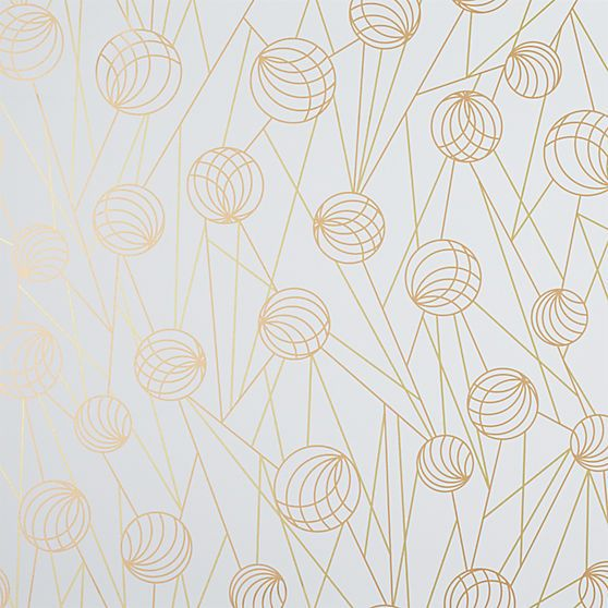 pinball gold selfadhesive wallpaper in wallpaper cb2