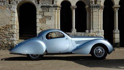Talbot-Lago T23 by Figoni et Falschi - c.1938