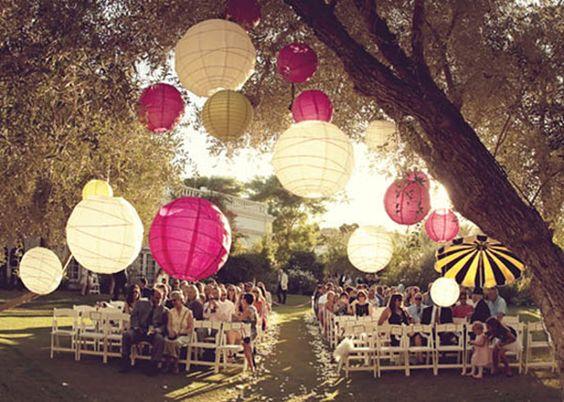 ... Chic Hochzeit Inspiration  Lampions, Hochzeit und Inspiration