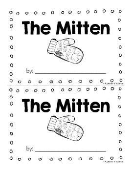 The Mitten By Jan Brett Mini Unit Emergent Reader {Freebie} DJ Inker ...