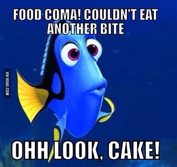 Food Coma  Suele pasar :(