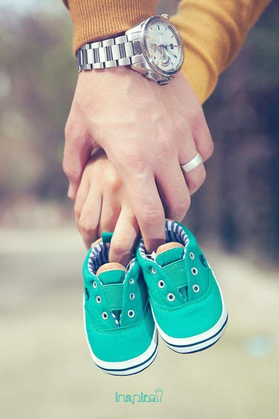 adorable baby announcement photo