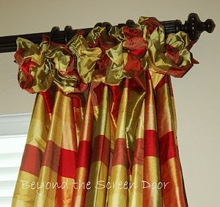 French Country Window Treatment