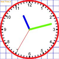 INTERACTIVE clock to practice time. You can have student ...