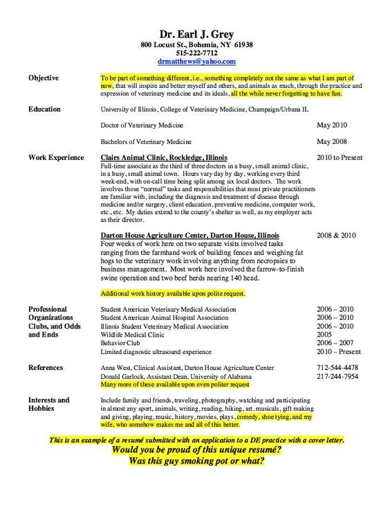 vet tech sample resume free resume sample