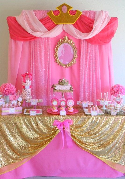 Sleeping Beauty Party Disney Princess Party by KROWNKREATIONS: