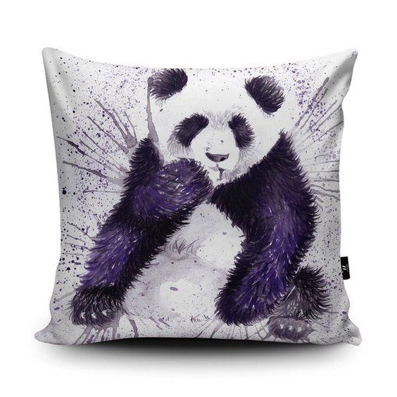 WRAPTIOUS Cushions - Kissen designed by Katherine Williams - SPLATTER PANDA