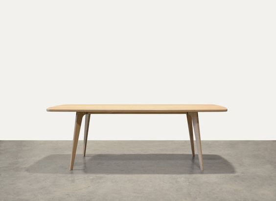 Een ontwerp van Oormerk, Tafel type Fjord - retro scandinavische tafel ...