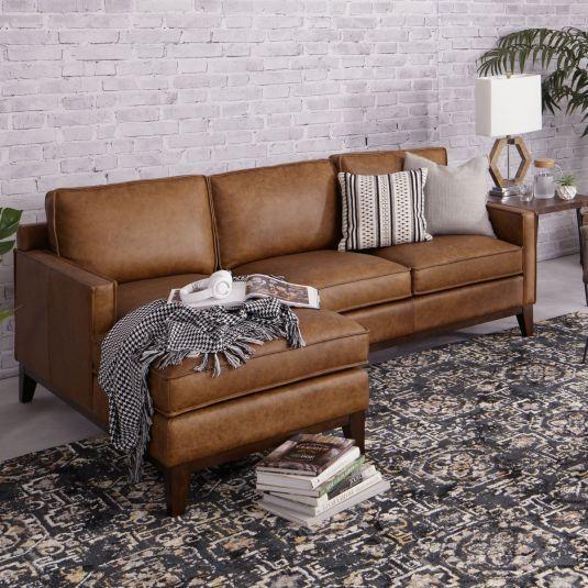 Ghế sofa da nhập khẩu dành cho căn hộ