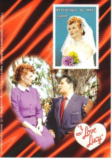 I Love Lucy stamp