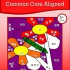 More Common Core Picture Math is a packet of twelve different worksheets where students can use their skills in mathematics to create a series of c...