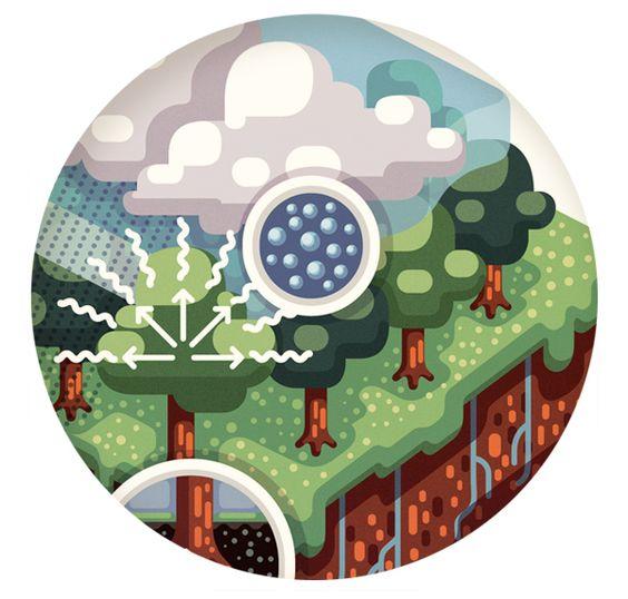 Climatic Illustrations by Raul Aguiar – Fubiz™