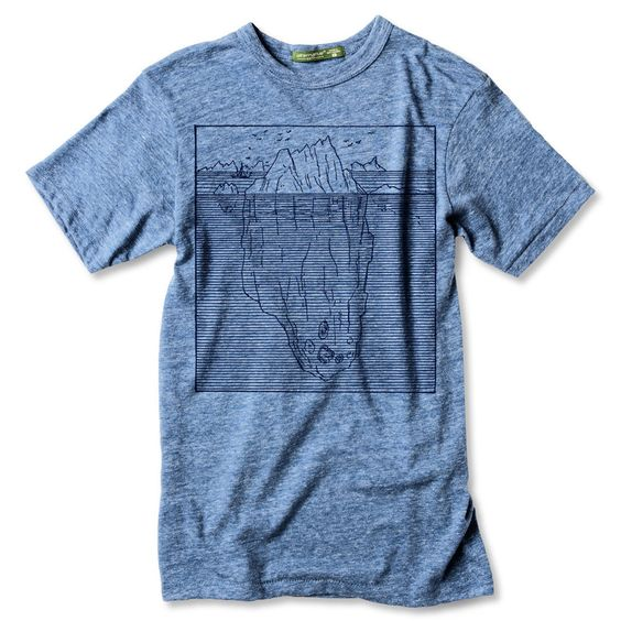 Hidden Potential Tee - Light Blue | arquebus clothing