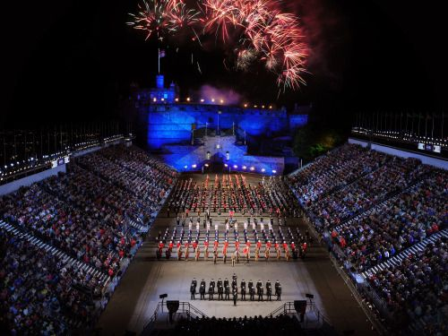 Edinburgh: the festival city. Calendar: http://www.edinburghfestivalcity.com/#festivals