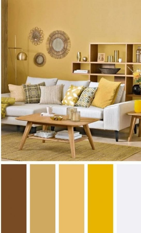 81 Popular Living Room Colors To Inspire Your Apartment Decoration Modern Living Room Colors Living Room Color Schemes Room Color Schemes
