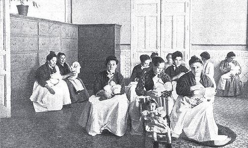 1905. Amas de cria de la Inclusa | Flickr: Intercambio de fotos