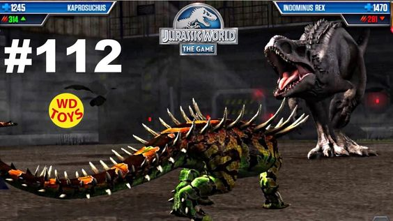 New  Jurassic World The Game  VIP Battles Episode 112  Vs Indominus  Din...