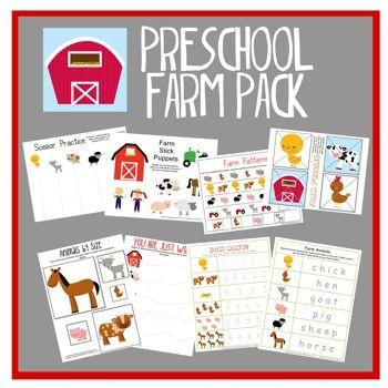 Preschool Farm Pack
