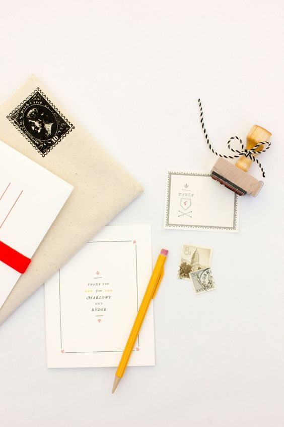 Wedding Calligraphy And Stamps On Pinterest