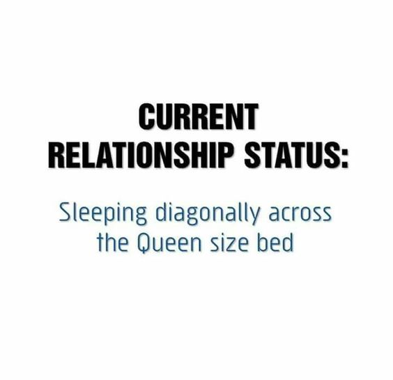 My king size bed makes this even more sad.