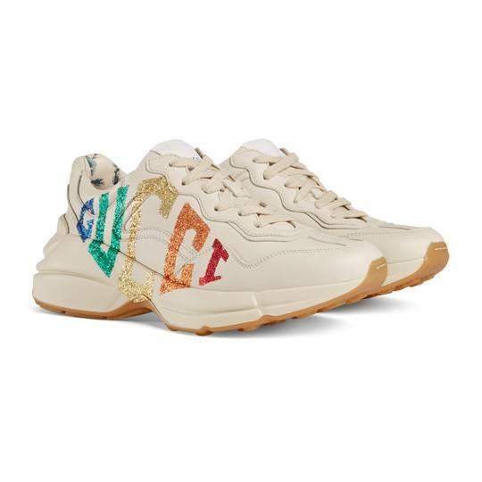 gucci sneakers tan