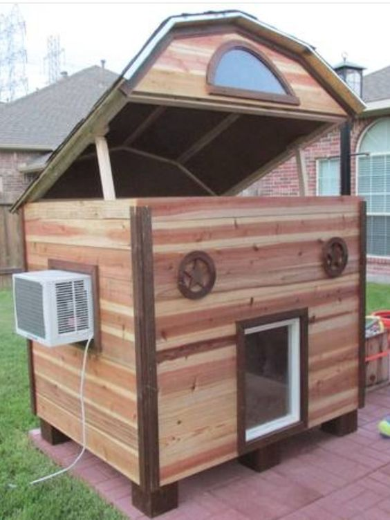 Dog House With Heater And Ac