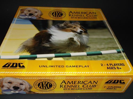 Family Game Night!Title American Kennel Club DVD Board Game become a dog expert Manufacturer Game Development Company 2008 684152300012 Like New condition; many parts still unopened Photos are of actual game Expedited Shipping included in US Global Shipping Program for inter- national buyers Thank You for looking; please also visit our EBay store