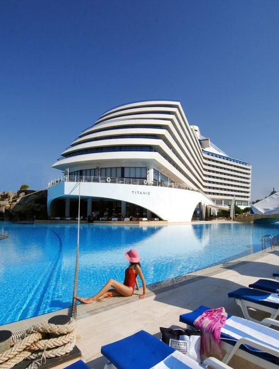 Titanic Beach Resort, Antalya, Turkey