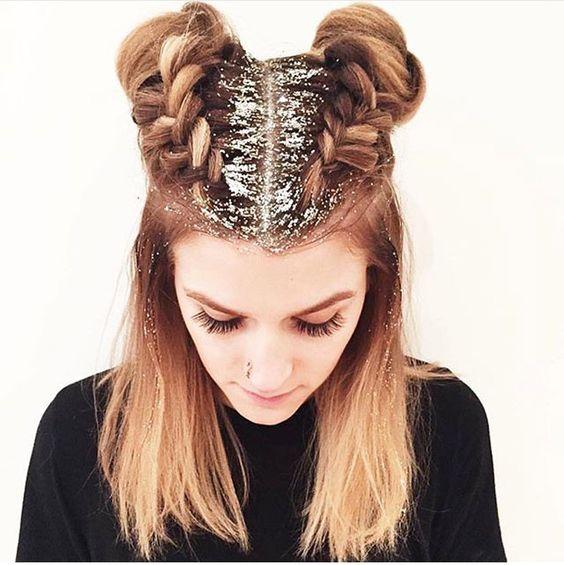 """Confira tudo sobre o """"glitter root"""", nova moda pro cabelo!:"""