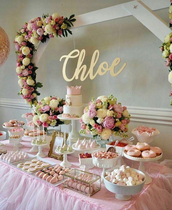 Adorables Ideas Para Fiestas Con Flores Ya Casi Fiestas