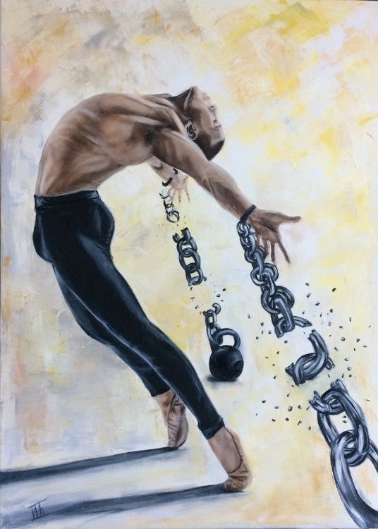 Freedom 2020 Oil Painting By Ira Whittaker Freedom Art Black Love Art Black Art Painting