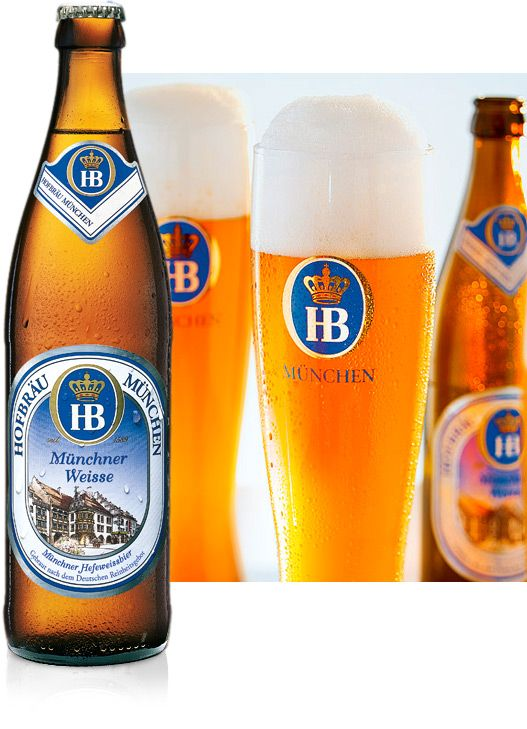 Bia Hofbrau Munchen Munchner Weisse 5,1% - Chai 500ml