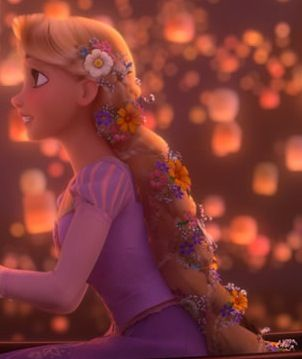 One of my most favorite hairstyles from the movie Tangled. Definitely re-creating this one!!