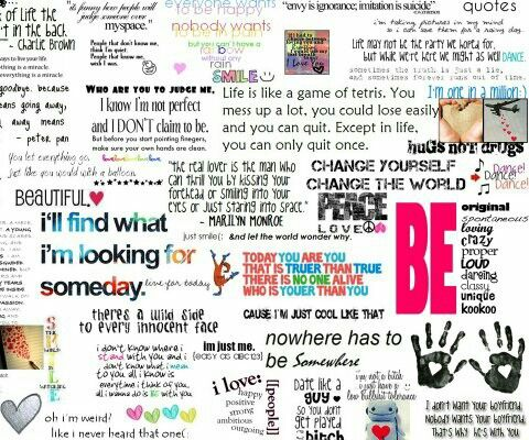 Collage of inspiring quotes. | Thing to make you think ...
