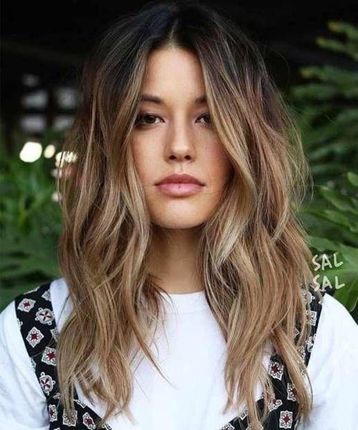 قصات شعر طبقات قصير و طويل و مدرج مناسب لجميع الوجوه 2019 Short Long And Plaid Hairstyles Suita Long Hair Styles Hair Styles Haircuts For Long Hair