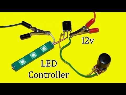 6 Tips How To Connect 7 Segment Led Display With Source Of 3 7v 5v And 12v Youtube 12v Led 12v Led Lights Led