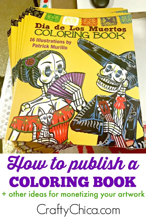 How to Publish a Coloring Book