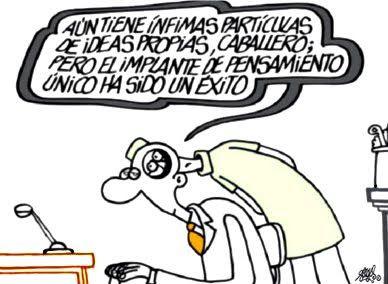 La Bombilla Flotante Humor Grafico Periodicos Espana Y Pensamientos