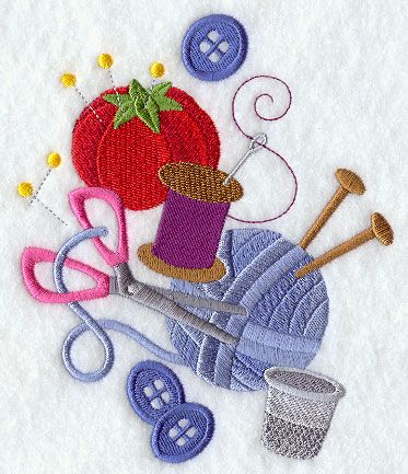 Machine Embroidery Designs at Embroidery Library! - Color Change - F6111: