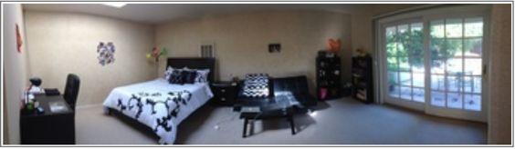 Bedroom - Panorama