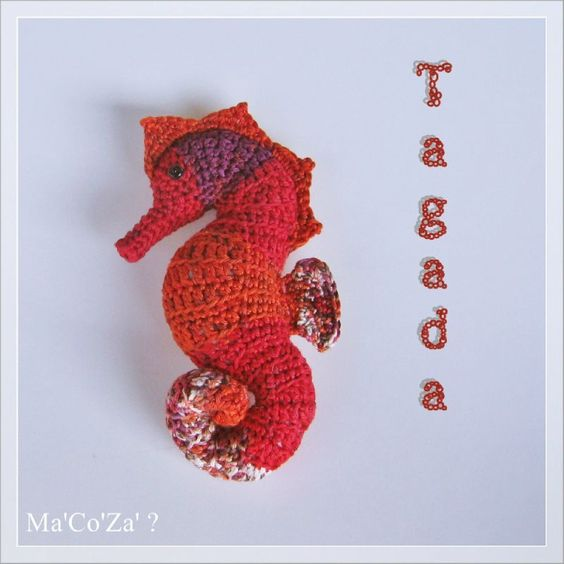 Amigurumi Hippocampe : hippocampe au crochet tagada crochet - amigurumi ...